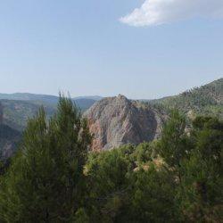 Carretera Riopar-Ayna en la provincia de Albacete