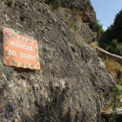 Subida al Mirador del Diablo en Ayna, Albacete