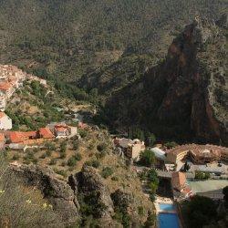 Vista del Mirador del Diablo en Ayna, Albacete