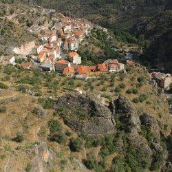 Vistas del Mirador del Diablo en Ayna, Albacete