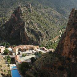 Vistas del pueblo Ayna, Albacete