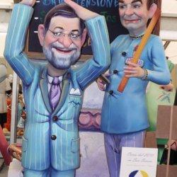 Presidentes del Gobierno en las Fallas de Valencia