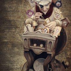 Maestro relojero en las Fallas de Valencia