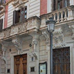 Ciudad de Novelda en la provincia de Alicante