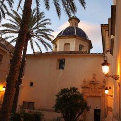 Parroquial de San Pedro Apóstol en la ciudad de Novelda en Alicante