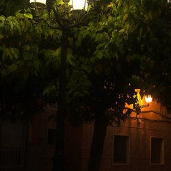 Calles de la ciudad de Novelda en Alicante