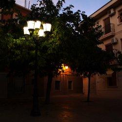 Patios de la ciudad de Novelda en Alicante