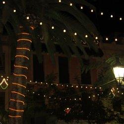 Inicio de las Fiestas de los Reyes Magos en la ciudad de Novelda en Alicante