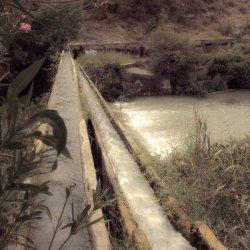 Riego en el Cañón del río Mundo en Albacete