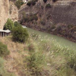 Galería cubierta en el Cañón del río Mundo en Albacete