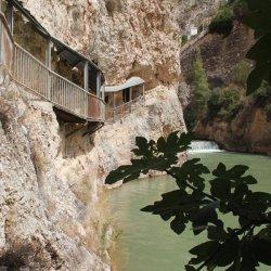 Solos en el Cañón del río Mundo en Albacete