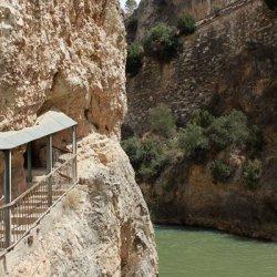 Vista del Cañón del río Mundo en Albacete