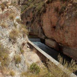 Cañón del río Mundo en Albacete
