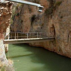 Recorrido permitido en el Cañón del río Mundo en Albacete