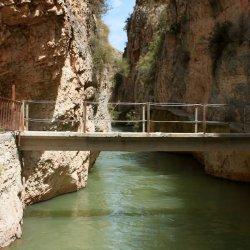 Senderos desconocidos en el Cañón del río Mundo en Albacete
