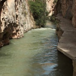 Peligro en el Cañón del río Mundo en Albacete