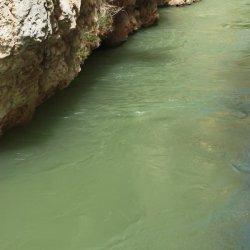 Aguas en el Cañón del río Mundo en Albacete