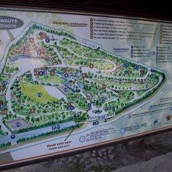 Parque del Oeste a la entrada en la ciudad de Novelda en Alicante