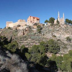 Conjunto del Santuario de Santa María Magdalena en Novelda de Alicante