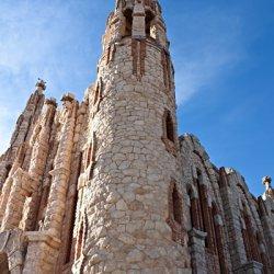 Fachada del Santuario de Santa María Magdalena en Novelda de Alicante