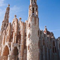 Forma del Santuario de Santa María Magdalena en Novelda de Alicante