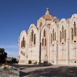 Parte clásica del Santuario de Santa María Magdalena en Novelda