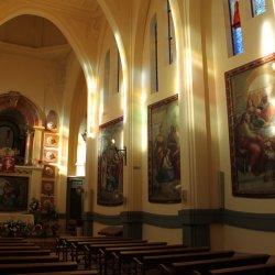 Sala y capilla del Santuario de Santa María Magdalena en Novelda de Alicante