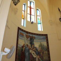 Cuadros en el Santuario de Santa María Magdalena en Novelda de Alicante