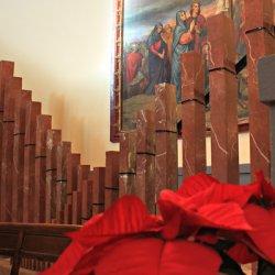 Sonidos del órgano de mármol en el Santuario de Santa María Magdalena en Novelda