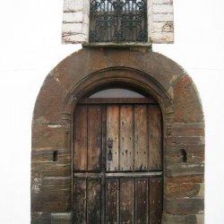 """Puertas de entrada al Hotel """"Pazo de Terrafeita"""""""