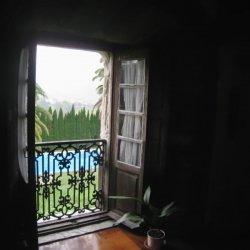 """Terraza en el Hotel """"Pazo de Terrafeita"""""""
