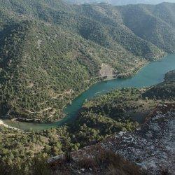 Conexión del río con el embalse de Siurana