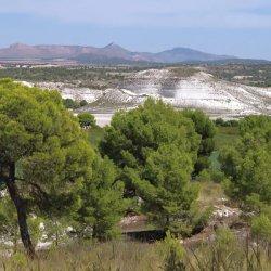 Paisaje en la carretera de Las Minas a Agramón en Albacete