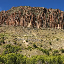 Antiguo volcán en las cercanías de Cancarix de Albacete