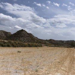 Paisajes en los alrededores del pueblo Las Minas en Albacete