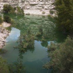 Embalse de Camarillas en Albacete