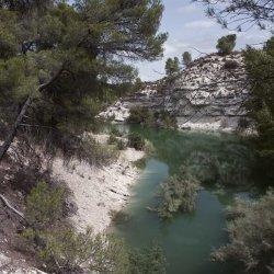 Vista del Embalse de Camarillas en Albacete