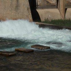 """Alrededores de la presa """"El Cenajo"""" en el río Segura"""